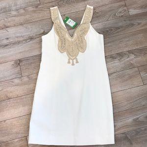 Lilly Pulitzer resort white shift dress